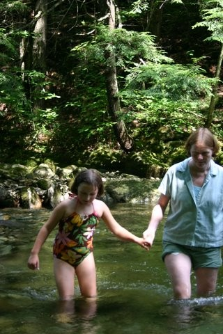 Ridley Brook swimming hole